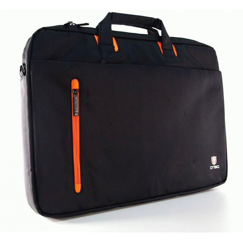 Сумка для ноутбука DTBG D8338BL-17 (Black-Orange)