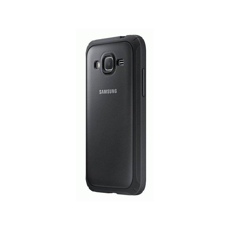 Оригинальный чехол Protective Cover для Samsung Galaxy Core Prime Duos G360H Silver (EF-PG360BSEGRU)