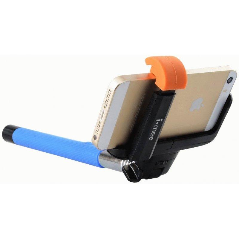Телескопический монопод Melkco для селфи i-mee Bluetooth (IMSFMP) Blue