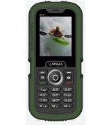 Sigma mobile X-treme IP67 Dual Sim Black/Green