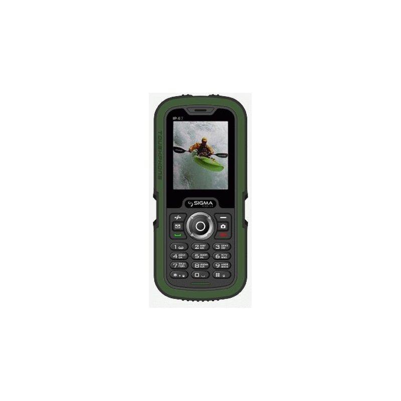 Sigma mobile X-treme IP 67 Dual Sim Black/Green