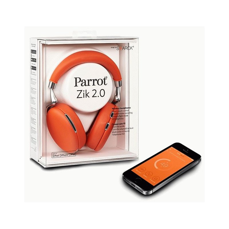 Parrot Zik 2.0 Orange (PF561025AA)