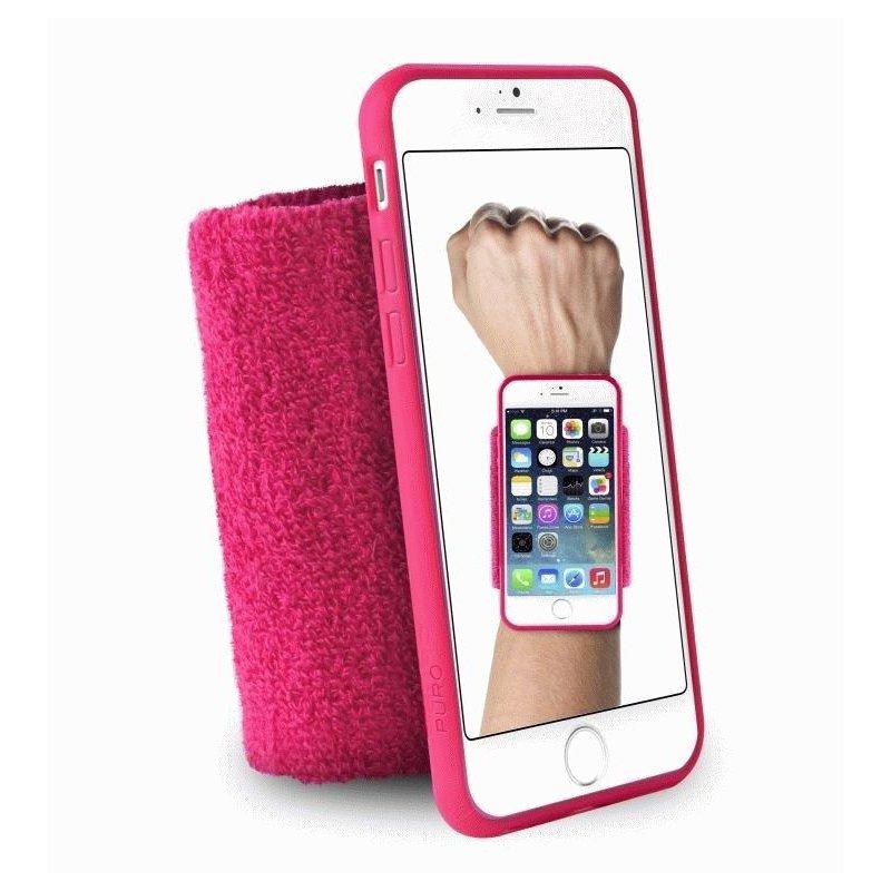 Чехол Puro Running Band Cover для Apple iPhone 6 Pink IPC647RUNPNK