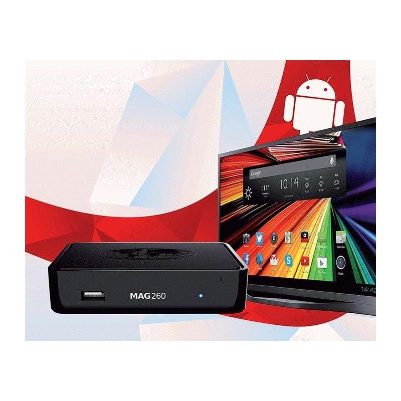 MAG 260 Android IPTV Box