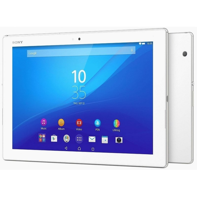 "Sony Xperia Tablet Z4 10"" 4G 32GB (SGP771/W) White"