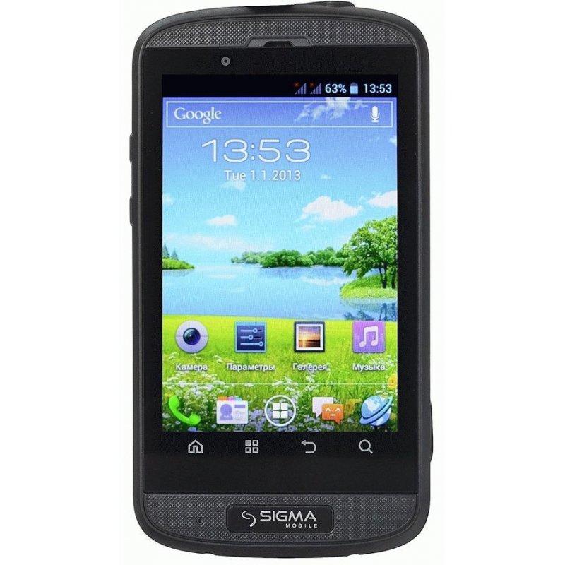 Sigma mobile X-treme PQ12 Black/Orange