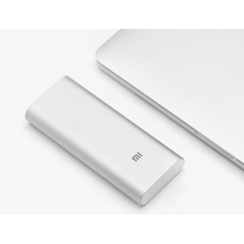 Внешний аккумулятор Xiaomi Power Bank 16000 mAh Silver