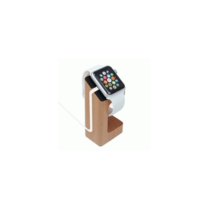Деревянная док-станция Rechargeable Stand для зарядки Apple Watch