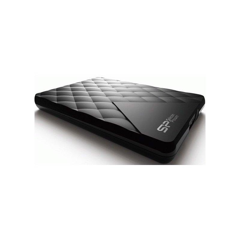 Silicon Power Diamond D06 1 TB SP010TBPHDD06S3K USB 3.0 Black