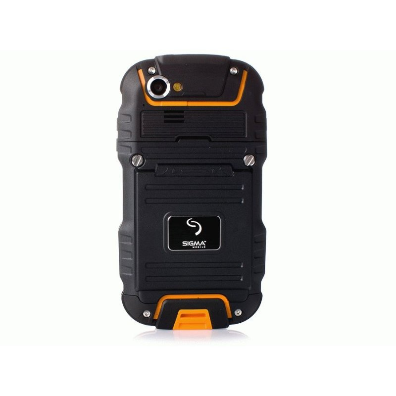 Sigma mobile X-treme PQ23 Black-Orange