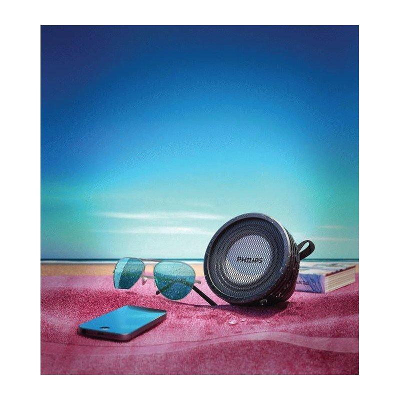 Philips DOT Wireless Portable Speaker Black (SB2000B/00)