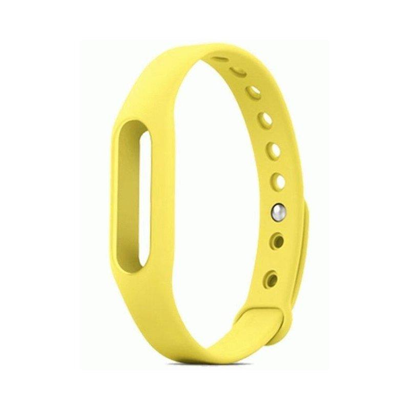 Ремешок для фитнес-трекера Xiaomi Mi Band Yellow