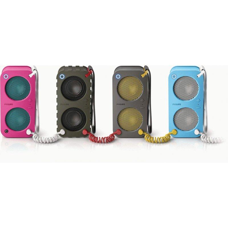 Philips BR-1X Wireless Portable Speaker (SB5200K/10)