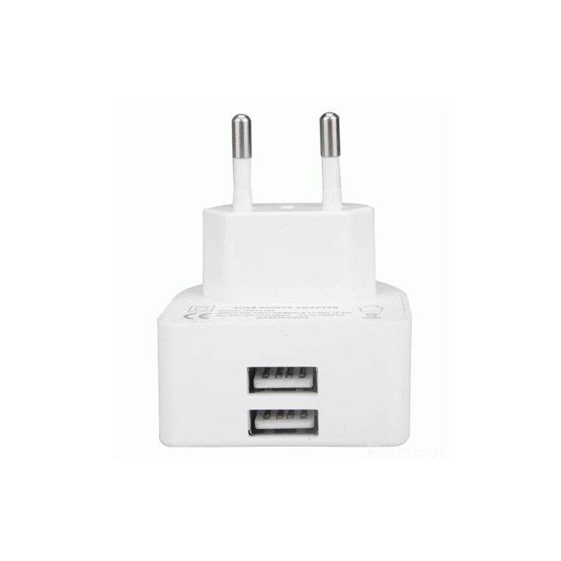 Сетевое зарядное устройство Remax 2.1 2-port White