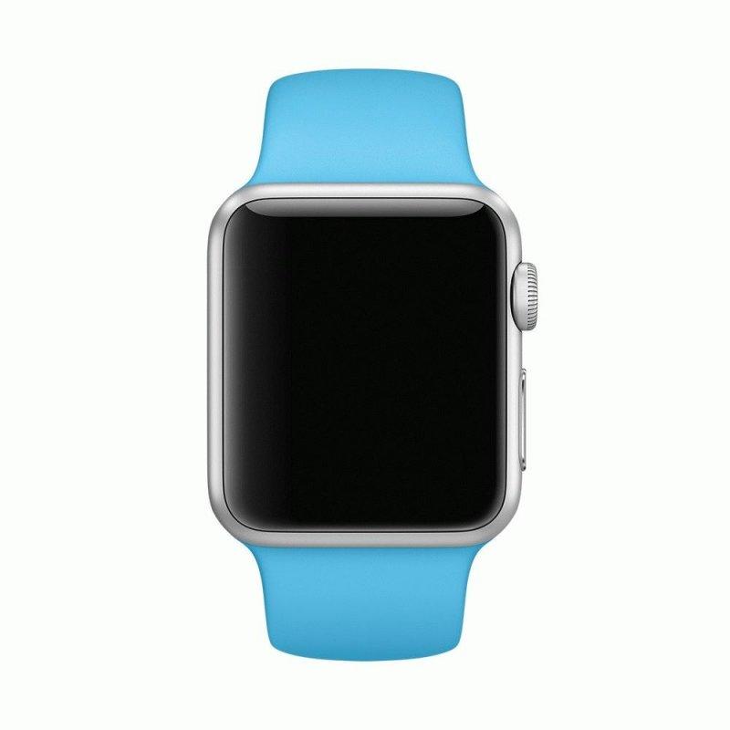 Ремешок для Apple Watch 38mm Sport Band Blue (MJ4J2)