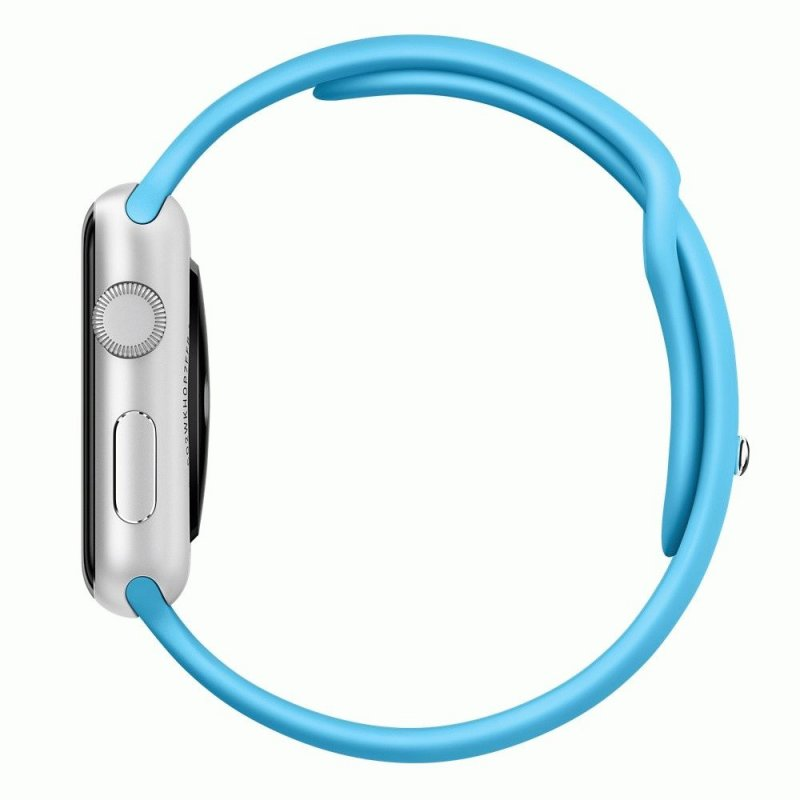 Ремешок для Apple Watch 42mm Sport Band Blue (MJ4R2)