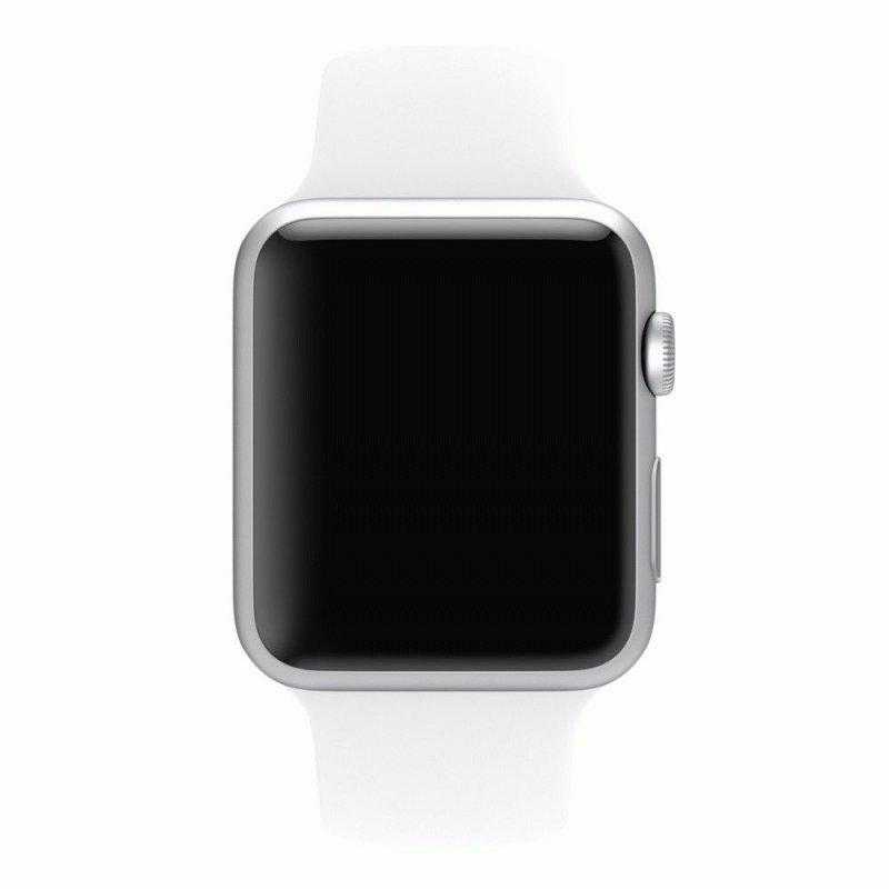 Ремешок для Apple Watch 42mm Sport Band White (MJ4M2)