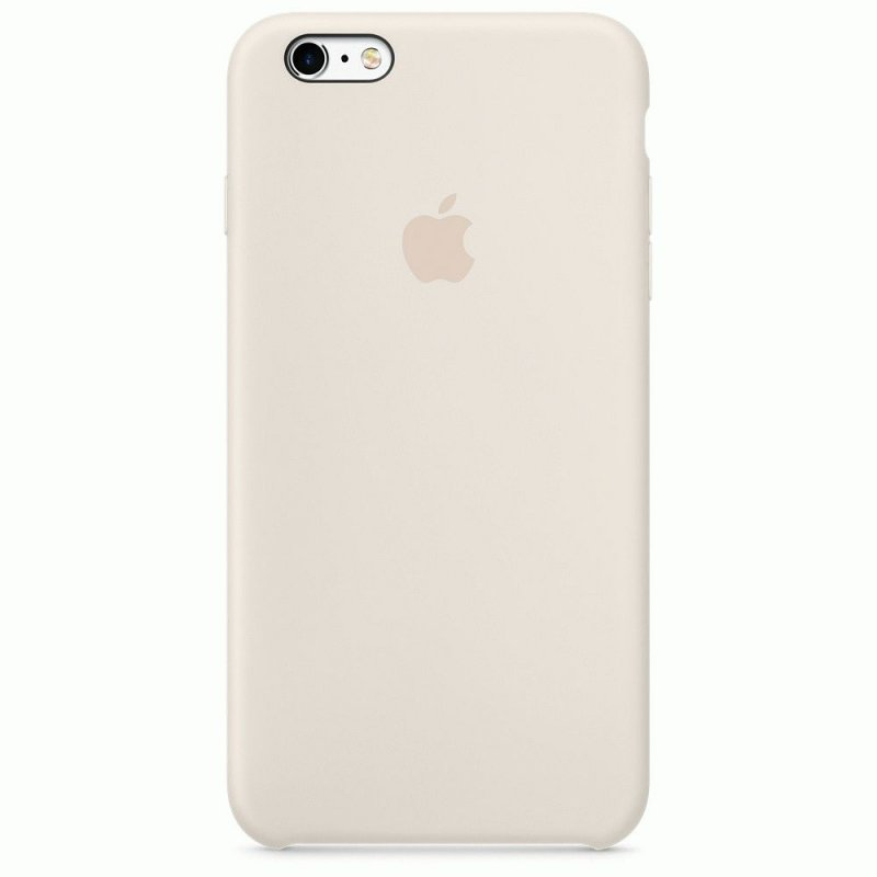 Чехол Apple iPhone 6s Silicone Case Antique White (MLCX2ZM/A)