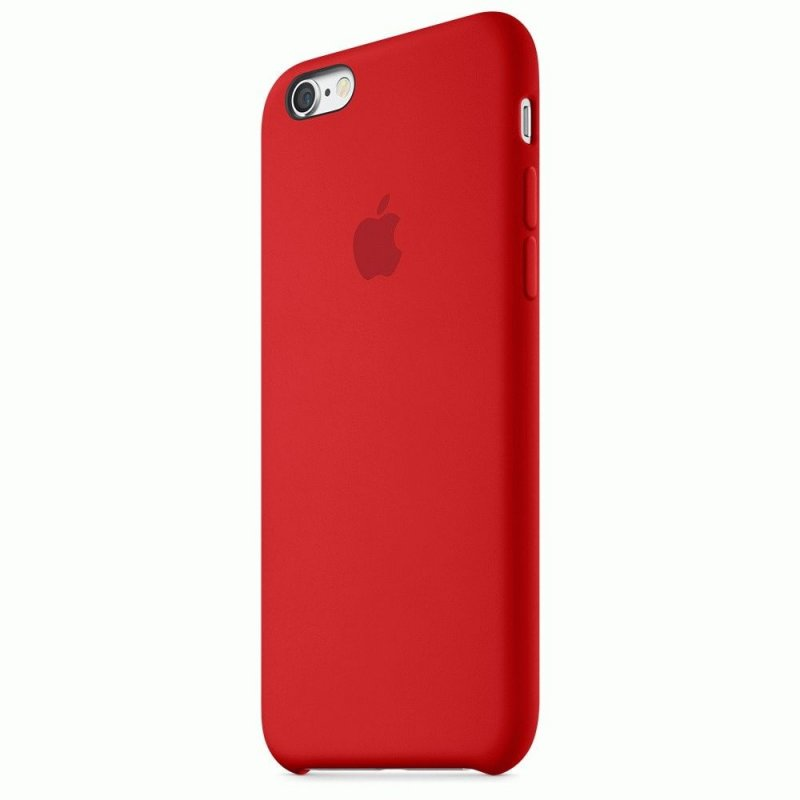 Чехол Apple iPhone 6s Silicone Case Red (MKY32ZM/A)