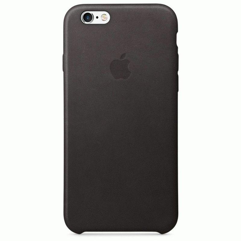 Чехол Apple iPhone 6s Leather Case Black (MKXW2ZM/A)