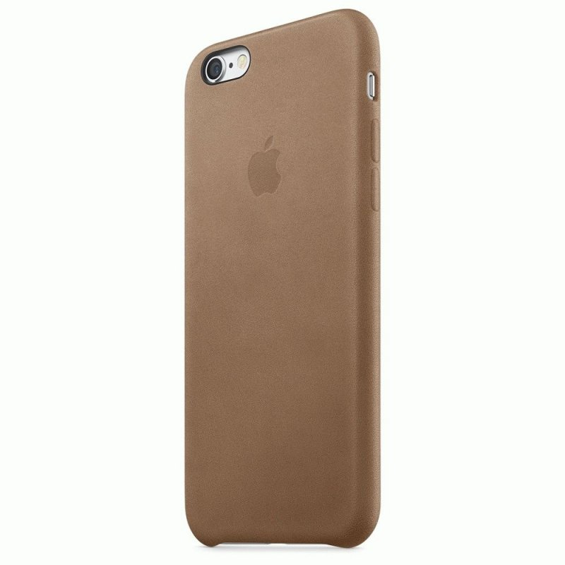 Чехол Apple iPhone 6s Leather Case Brown (MKXR2ZM/A)