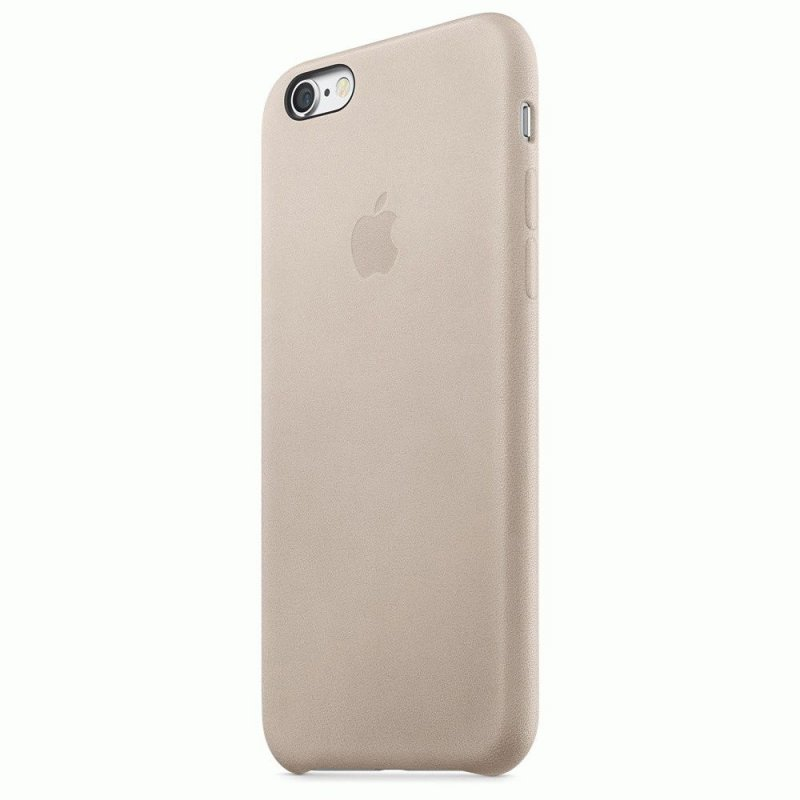 Чехол Apple iPhone 6s Leather Case Rose Gray (MKXV2ZM/A)
