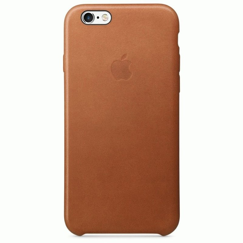 Чехол Apple iPhone 6s Leather Case Saddle Brown (MKXT2ZM/A)