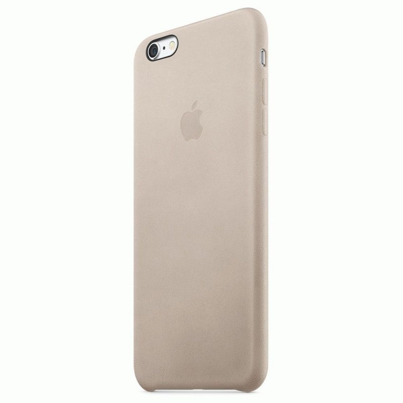 Чехол Apple iPhone 6s Plus Leather Case Rose Gray (MKXE2ZM/A)