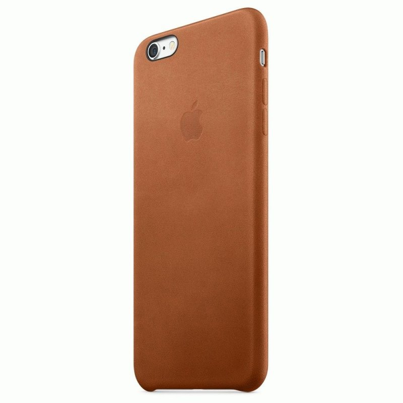 Чехол Apple iPhone 6s Plus Leather Case Saddle Brown (MKXC2ZM/A)