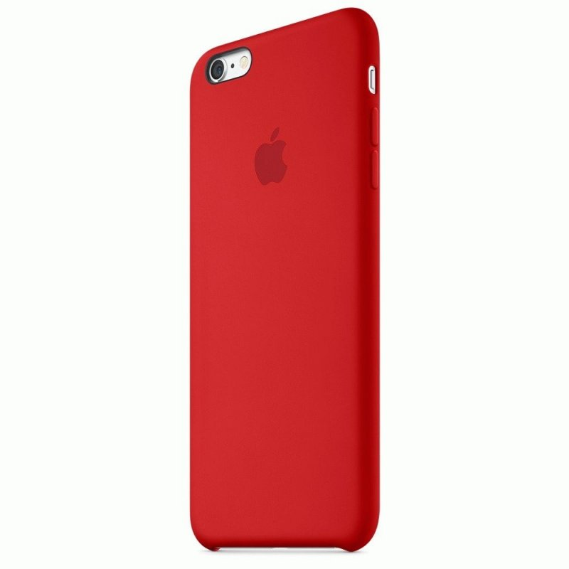 Чехол Apple iPhone 6s Plus Silicone Case Red (MKXM2ZM/A)