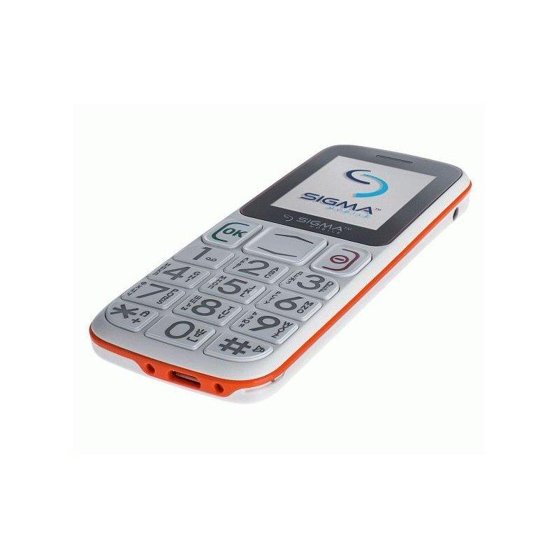 Sigma mobile Comfort 50 Mini3 White-Orange