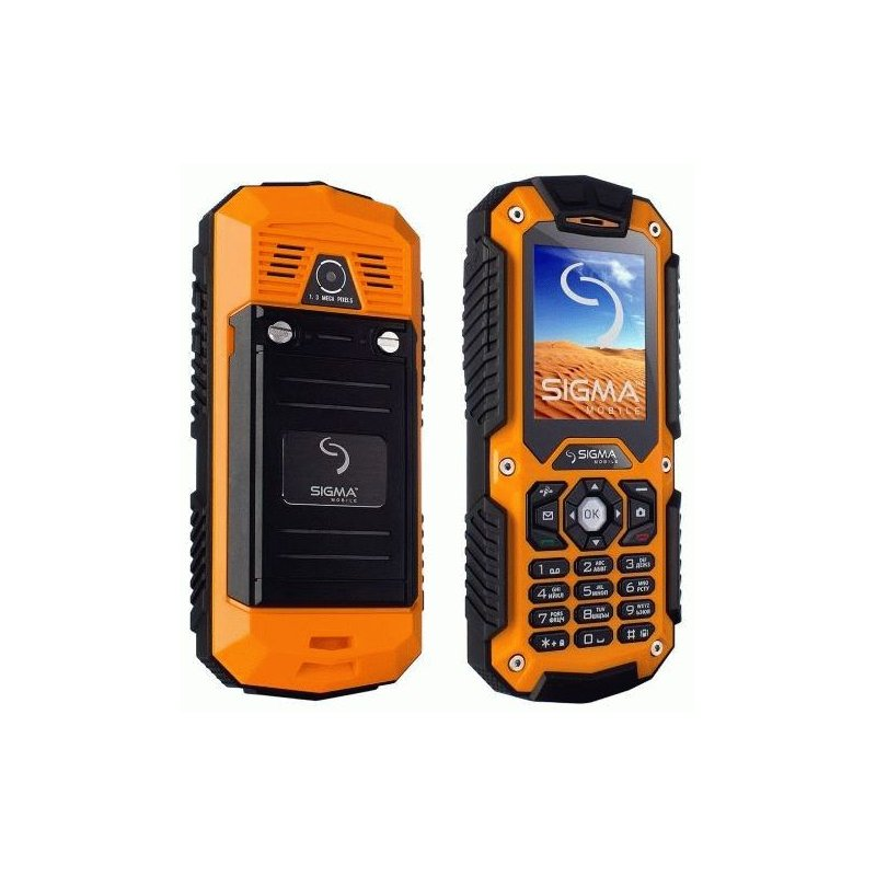 Sigma mobile X-treme II67 Dual Sim Black-Orange