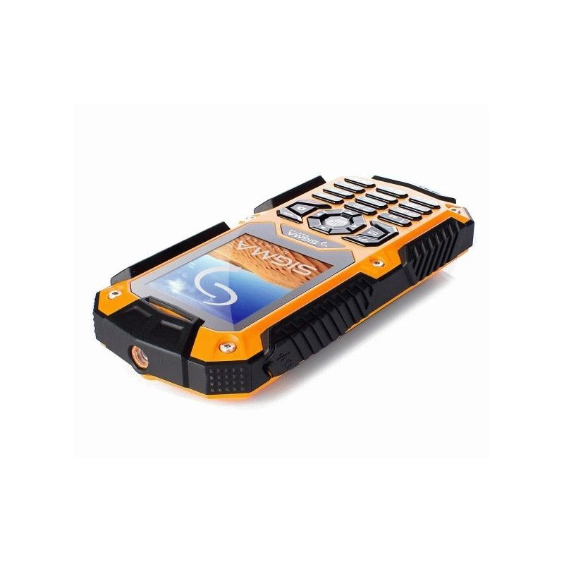 Sigma mobile X-treme IT67 Dual Sim Black-Orange