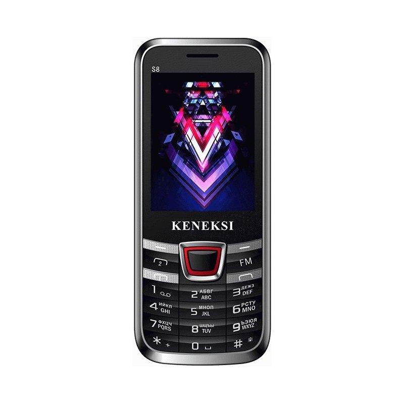 Keneksi S8 Dual Sim Black