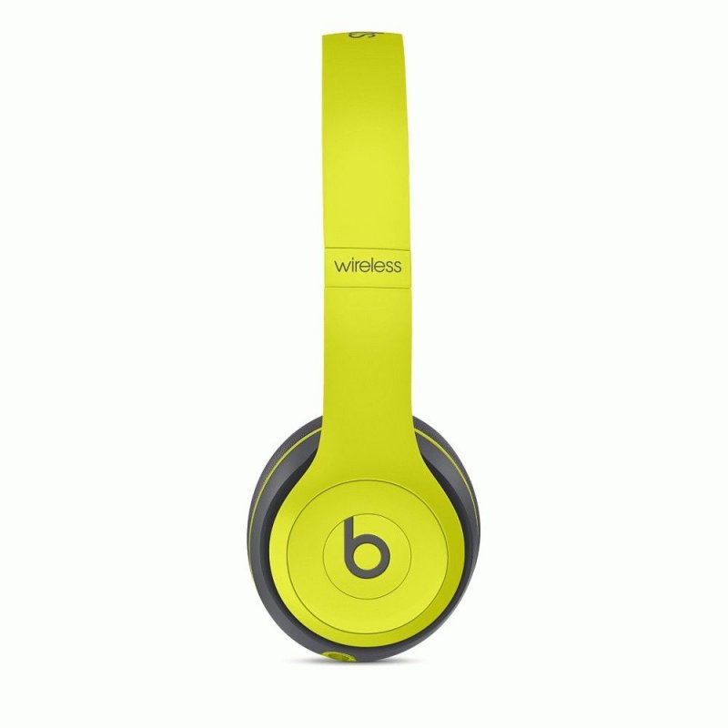 Beats Solo2 Wireless Active Collection Yellow (MKQ12ZM/A)