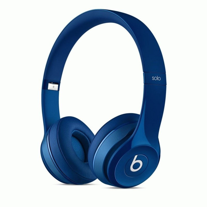 Beats Solo2 On-Ear Gloss Blue (MHBJ2ZM/A)