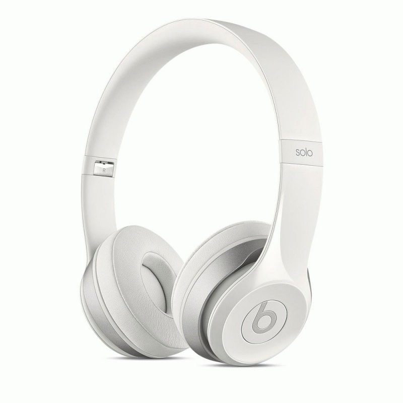 Beats Solo2 On-Ear Gloss White (MH8X2ZM/A)