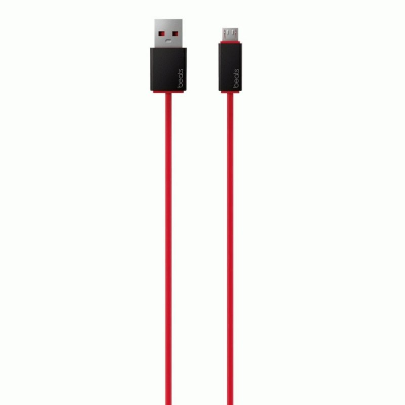 Кабель Beats USB Cable Red (MHE72G/A)