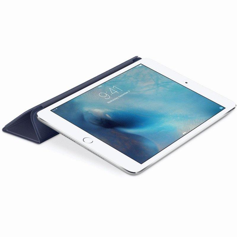 Обложка Apple Smart Cover для iPad mini 4 Midnight Blue (MKLX2ZM/A)