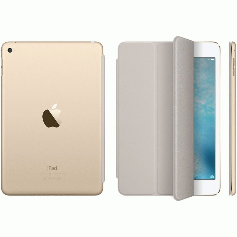 Обложка Apple Smart Cover для iPad mini 4 Stone (MKM02ZM/A)