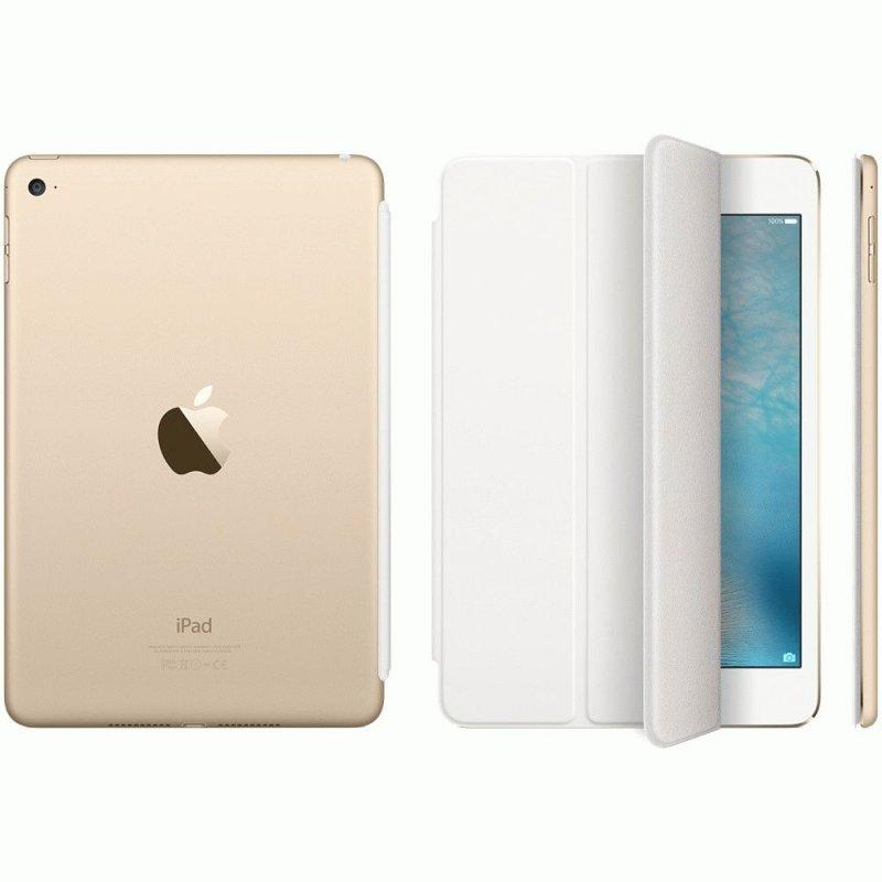 Обложка Apple Smart Cover для iPad mini 4 White (MKLW2ZM/A)