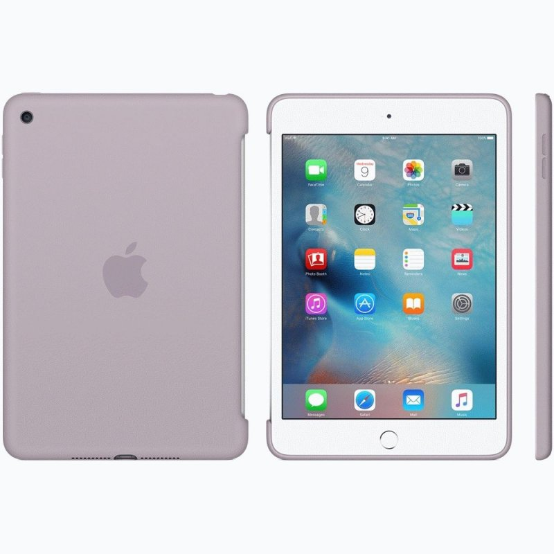 Накладка Apple Silicone Case для iPad mini 4 Lavender (MLD62ZM/A)