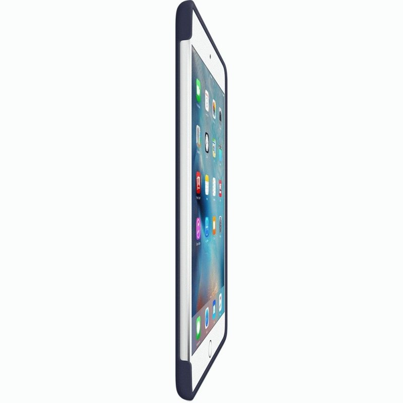 Накладка Apple Silicone Case для iPad mini 4 Midnight Blue (MKLM2ZM/A)