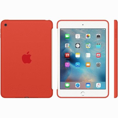 Накладка Apple Silicone Case для iPad mini 4 Orange (MLD42ZM/A)