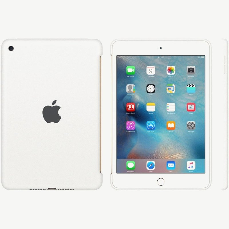 Накладка Apple Silicone Case для iPad mini 4 White (MKLL2ZM/A)