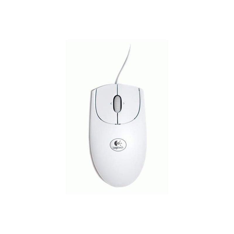 Мышь компьютерная Logitech RX250 PS2/USB White OEM