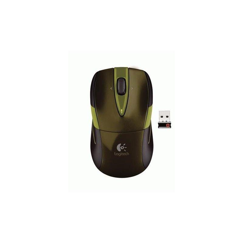 Мышь компьютерная Logitech Wireless Mouse M525 Green