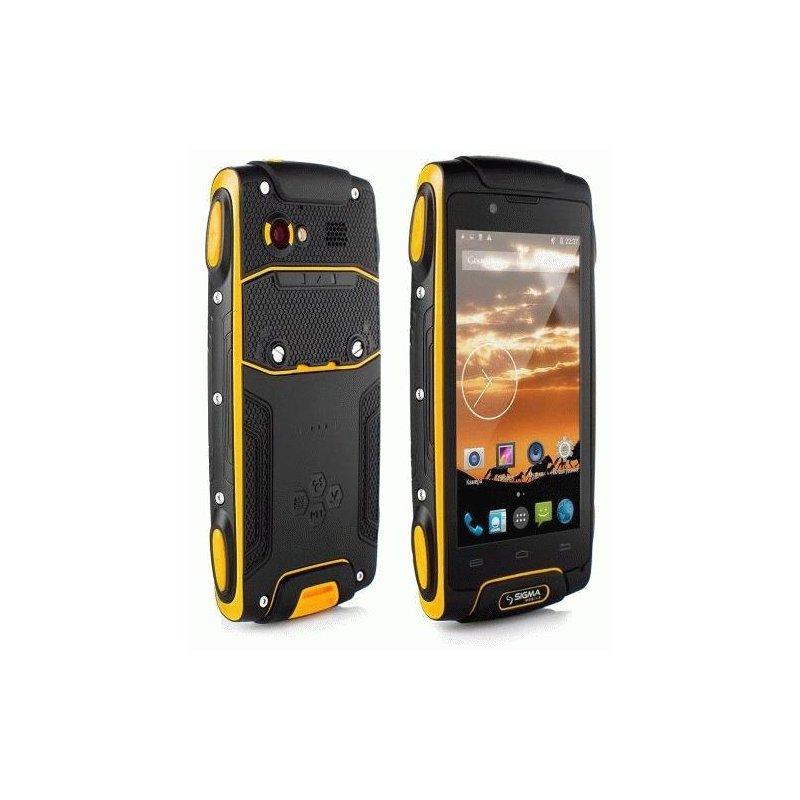 Sigma mobile X-treme PQ30 (3700 мАч) Black-Orange