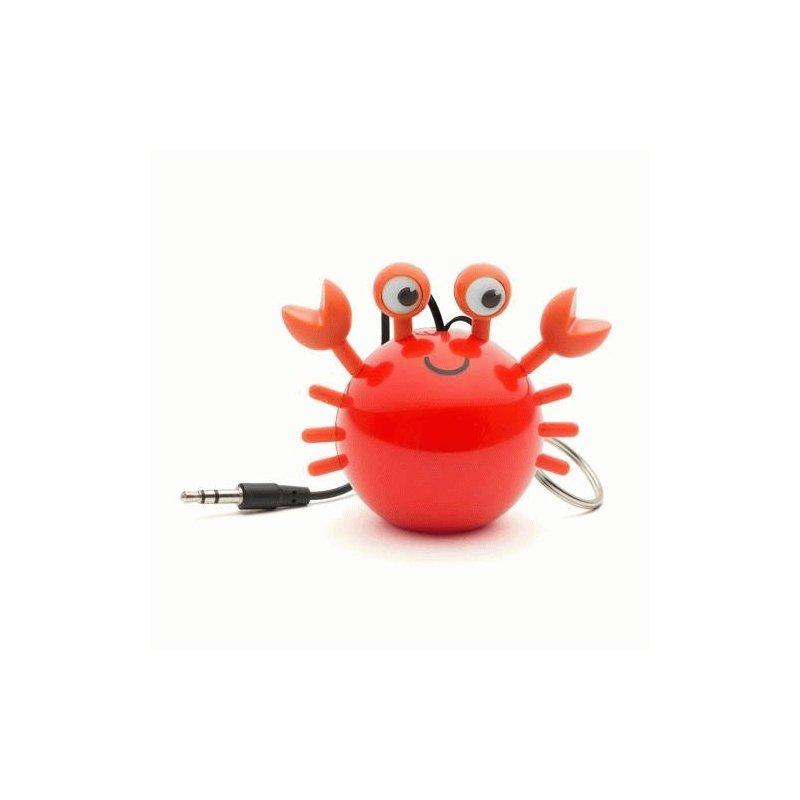 Колонка KitSound Mini Buddy Speaker Crab (Orange)