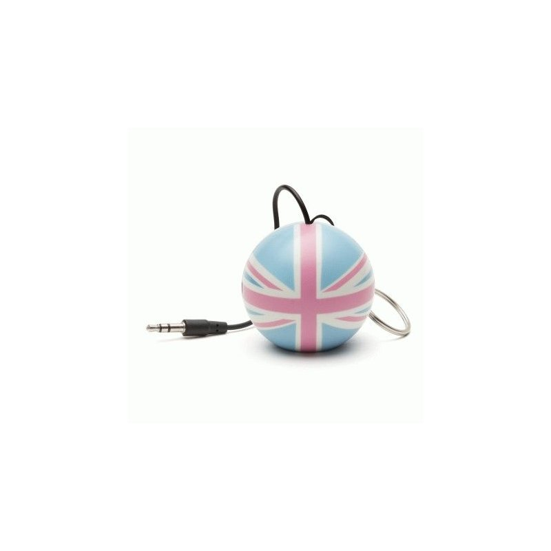 Колонка KitSound Mini Buddy Speaker Pastel Union Jack
